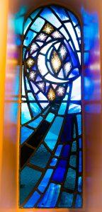 Side altar window